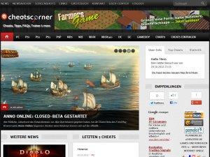 Screenshot CheatsCorner.de